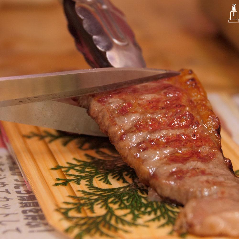 Osaka's No-Frills Japanese BBQ Restaurant